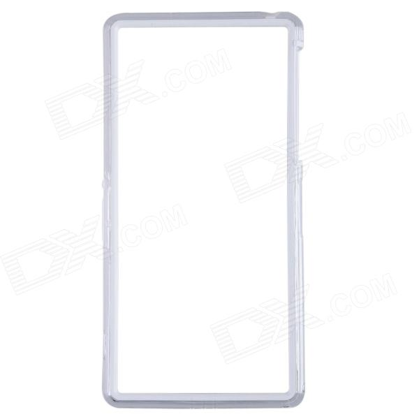 Protective Plastic Bumper Frame Case for Sony Xperia Z2 - White