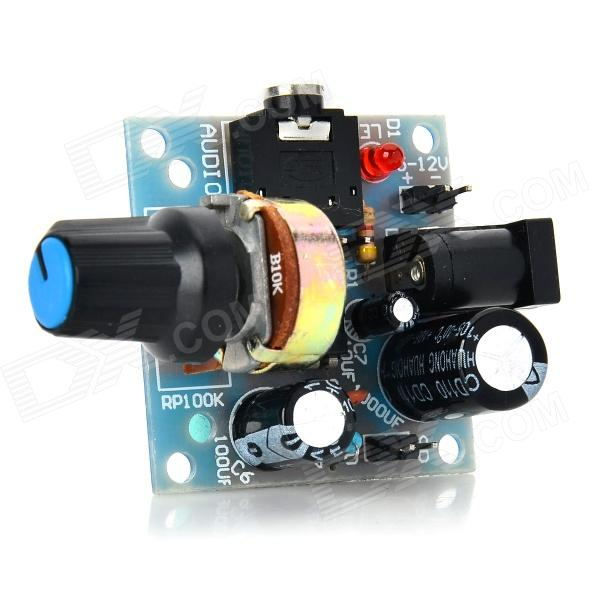 YaoSheng 386 Mini Audio Amplifier Module - Light Blue (5~12V)