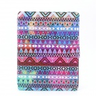Colorized Tribal Pattern PU Leather Flip Open Case w/ Stand for IPAD 2 / THE NEW IPAD / IPAD 4