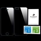 Mr.northjoe 0.26mm 2.5D 9H Front & Back Tempered Glass Film Protector for IPHONE 5 / 5S (2 PCS)