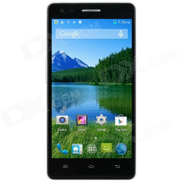 "VK 1000 MTK6582 + 6290 Android 4.4.2 Quad-core 4G FDD-LTE Phone w/ 5.0"", Wi-Fi, GPS - White + Black"