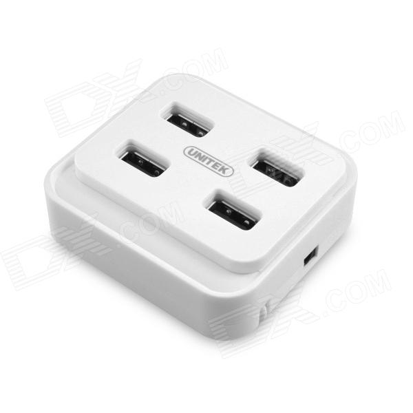 UNITEK Y-2158WH USB 2.0 4-Port HUB Dustproof Waterproof HUB - White