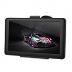 "783F 7"" Capacitive Screen Win CE 6.0 Car GPS Navigator w/ Multinational Map - Black"