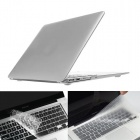 "ENKAY Protective PC Full Body Case and TPU Keyboard Film for MacBook Air 13.3"" - Silver"
