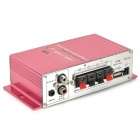 2-CH Hi-Fi Stereo Amplifier for Car/Motorcycle with USB Port