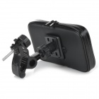 Motorcycle Mount Holder + Protective Water Resistant Bag Case Set for Sony Xperia Z3 / L55T - Black