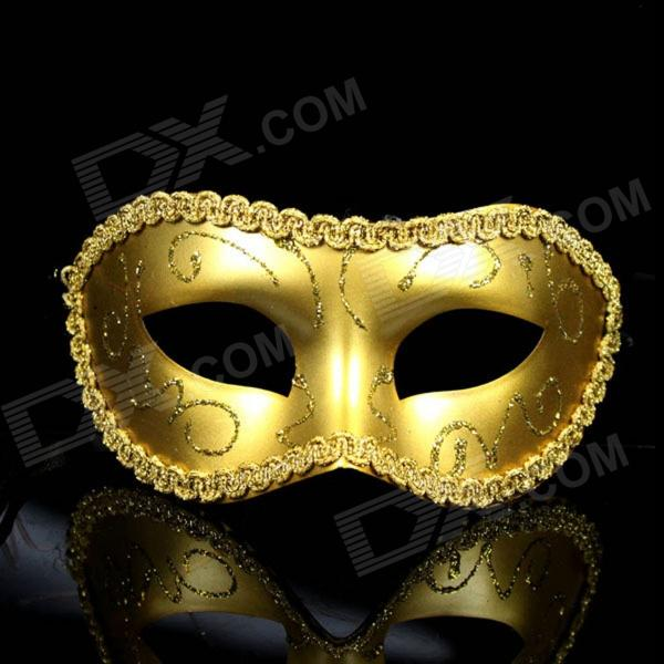 Cosplay Prince Slipknot Face Mask for Halloween / Masquerade / Costume Party - Golden devil may cry 4 dante cosplay wig halloween party cosplay wigs free shipping