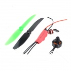ZnDiy-BRY RC-13 10A Electronic Speed Controller + CW Motor + Propellers Set for QAV250 / ZMR H250