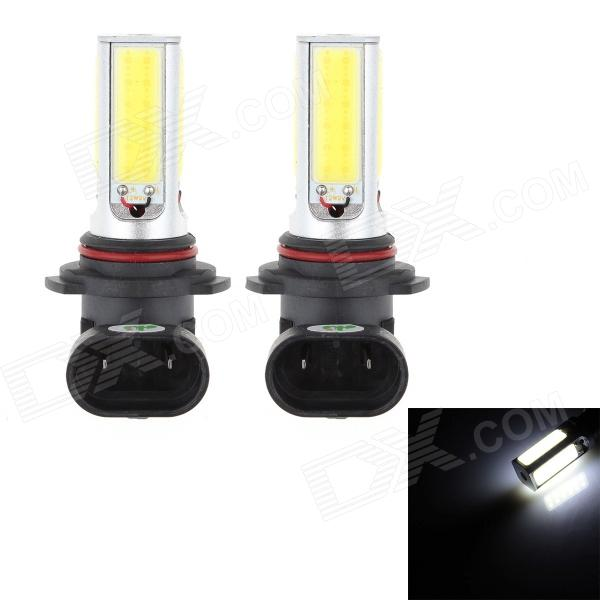 HJ 9006 24W 2200lm 6500K 4-COB LED White Light Car Brake Lamp (10~30V / 2 PCS) от DX.com INT
