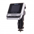 FM12 Auto MP3 FM Transmitter w / Bluetooth Handsfree-Funktion - Schwarz