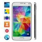 "No.1 S7T Quad-Core Android 4.2.2 WCDMA Phone w/ 5"", 1GB RAM, 16GB ROM, Fingerprint Unlock - White"