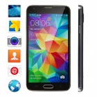 "No.1 S7T Quad-Core Android 4.2.2 WCDMA Phone w/ 5"", 1GB RAM, 16GB ROM, Fingerprint Unlock - Black"