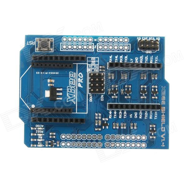 ElecFreaks E00395 XBee Shield with Logic Level Converter for Arduino fast free ship for gameduino for arduino game vga game development board fpga with serial port verilog code