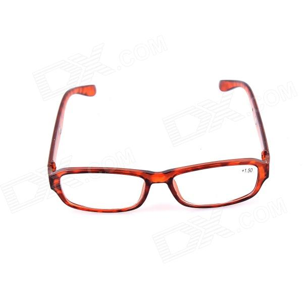 SYS0072 1.5 Diopter Reading Presbyopic Glasses - Leopard Black