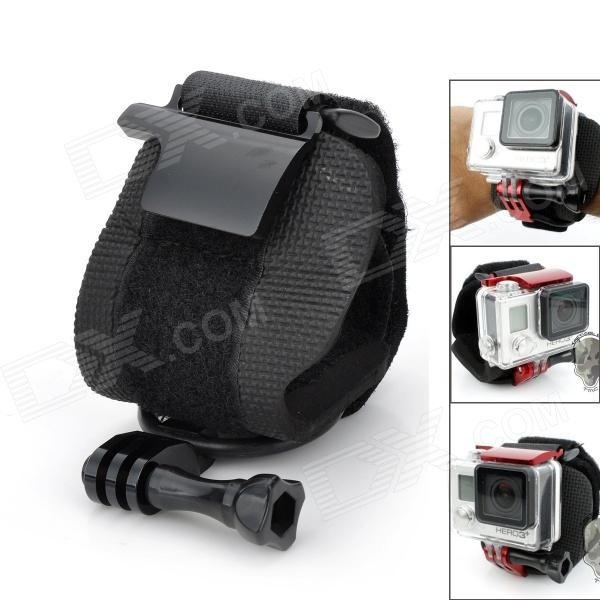 Sportguard Adjustable Wrist Mount Belt Rotate Strap w/ Screw for Gopro Hero 4/ 3+ / 3 / 2 / 1 / SJ4000 gopro accessories head belt strap mount adjustable elastic for gopro hero 4 3 2 1 sjcam xiaomi yi camera vp202 free shipping