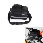 Buy BOI Outdoor Multifunctional Cycling Polyester Bicycle Backseat Bag Rain Cover - Black (13L)