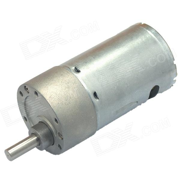 37GB-545 DC 24V 780RPM Precision Geared Motor - Silver