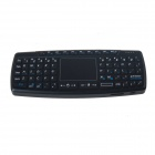 CATCAM KB-168 Mini Wireless  69-Key Keyboard w/ Touch Pad for Apple / HP / Dell + More - Black