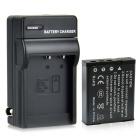 DSTE NP-130 2300mAh Battery + DC104 US Plug Charger for Casio EX-ZR100 ZR200 Camera