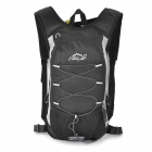 LOCAL LION Multi-functional Outdoor Mountaineering Cycling Double Shoulder Bag Backpack - Black
