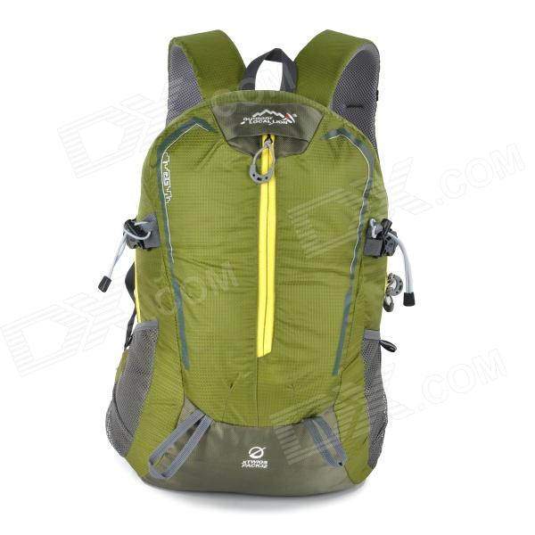 LOCAL LION 468 Outdoor Mountaineering Nylon Double Shoulder Bag Backpack - Green снегоуборщик al ko snowline 55 e red 113096