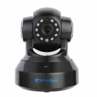 "SunEyes SP-TM01EWP 1/4"" CMOS 1.0MP IP Camera w/ 10-IR-LED / Wi-Fi / IR-CUT / TF - Black (EU Plug)"