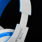 VYKON ME111 Multifunctional USB Headphone w/ Microphone for Computer - White + Blue