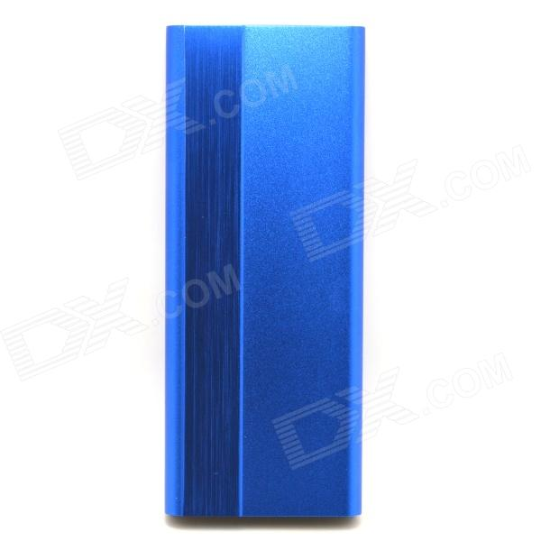3000mAh 5V Li-Polymer Battery Mobile Power Bank - Blue