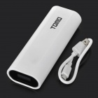 TOMO V8-2 5V Dual USB 6000mAh Li-ion Battery Power Bank for IPAD / IPHONE / PSP - White