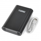 TOMO V8-4 5V Dual USB 15000mAh Li-ion Battery Power Bank para IPAD / IPHONE / PSP - Negro