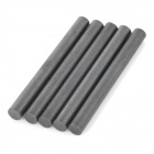Outdoor Ferrocerium Flintstone Fire Starter Stick - Black (5PCS)