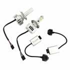 H4 30W 3000LM 6000K Cree XM-L2 LED White Light Car Headlamp / Foglight (2PCS / 8~48V)