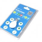 RQ RQ90 Bluetooth V4.0 Toveis anti-tapt Alarm Key - Hvit (1 x CR2032)