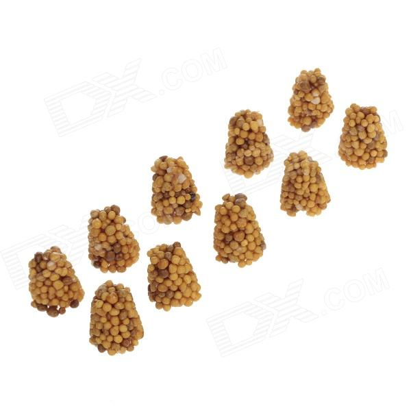 I-079 Water Plant Fertilizers for Aquarium Fish Tank - Brown (10 PCS) another one bites the grass