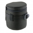 E11 Universal Thickened Protective Nylon Camera Lens Case Pouch - Black