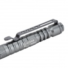 Laix B5 Outdoor Clip-on Aluminum Self-Defense Emergency EDC Tactical Ink Pen - Grey