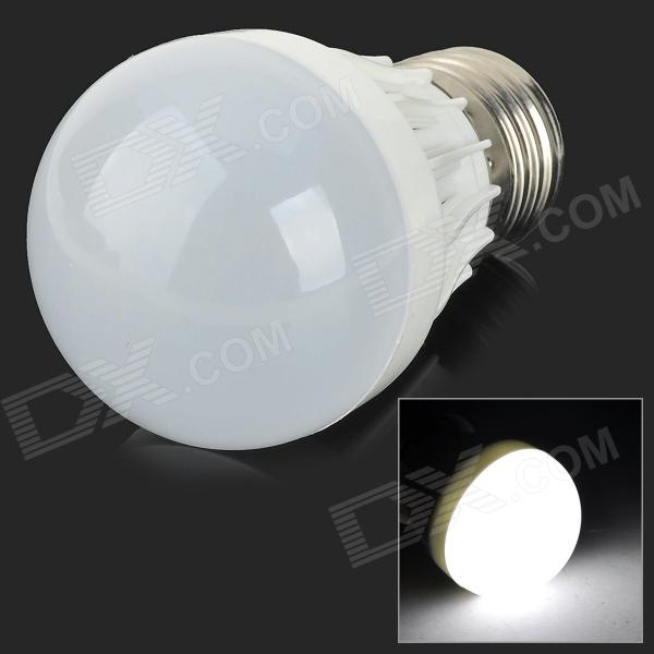 YouOKLight B50-6P E27 3W 250lm 6500K 6-SMD 5730 LED White Light Bulb - White (AC 85~265V)
