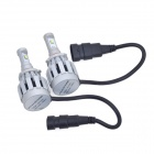 9005 26W 2000lm 6500K 2 x Cree XM-L2 White Light Car Headlight / Foglight (DC 12 ~ 24V / 2 PCS)