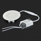 XUNRUIXING QFL-THD-3W 3W 180lm 3200K 15-SMD 2835 LED Warm White Ceiling Light - White (AC 85~265V)