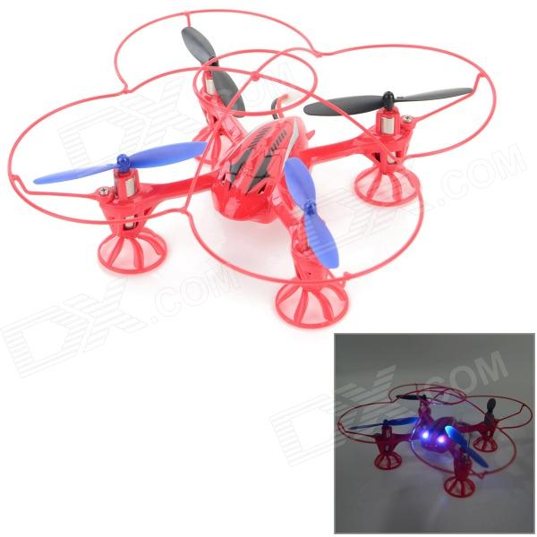 RunQia 2.4GHz 4-CH 6-Axis Outdoor R/C Quadcopter w/ Gyroscope - Red (6 x AA)