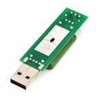 USB Charging Current Detecting Tester Module w/ Switch Indicator - Green