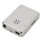 "1.1"" TFT Digital MP3 Player w/ FM / TF / Mini USB / 3.5mm - Black + White + Silver"