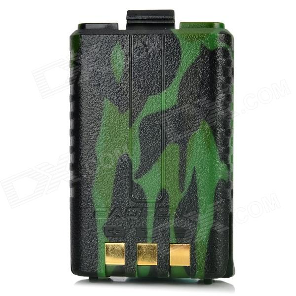 BaoFeng Replacement 7.4V 1800mAh Li-ion Battery for Walkie Talkie UV-5R / 5RA / 5RD - Camouflage oem 10 144 430 na 519 sma walkie talkie baofeng 5r px 888k tg uv2 uvd1p na 519