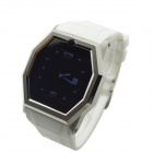 "TW520B Bluetooth V3.0 Partner GSM Watch Phone w/ 1.54"" Resistive Screen, Quad-band - White"
