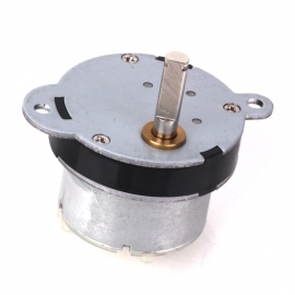 ZnDiy-BRY 7RPM 150mA 40MM 12V DC Replacement Torque Gear Motor