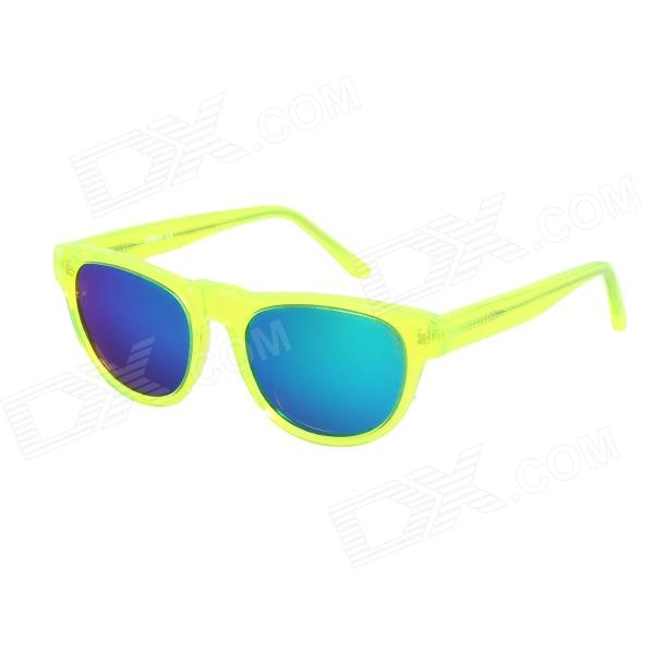 OREKA Children's Fashionable Green REVO UV400 Sunglasses - Translucent Green набор бит skrab 43857