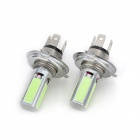 Marsing C-01 H4 20W 7000K 4-COB LED Ice Blue Light Car faro / Foglight (12V / 2 PCS)