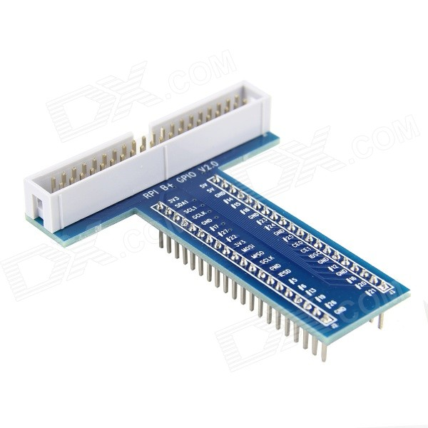 DIY T Style 40P GPiO Expansion Board for Raspberry Pi 2 Model B& B+
