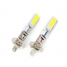 Marsing H1 10W 6500K 900lm 2-COB LED Cold White Car Head Light / Foglight (12~24V / 2 PCS)