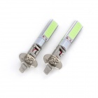 Marsing H1 10W 7000K 2-COB LED Ice Blue Car luz de la cabeza / Foglight (12V / 2 PCS)